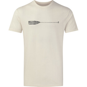 tentree Cove Classic Camiseta Hombre, elm white heather